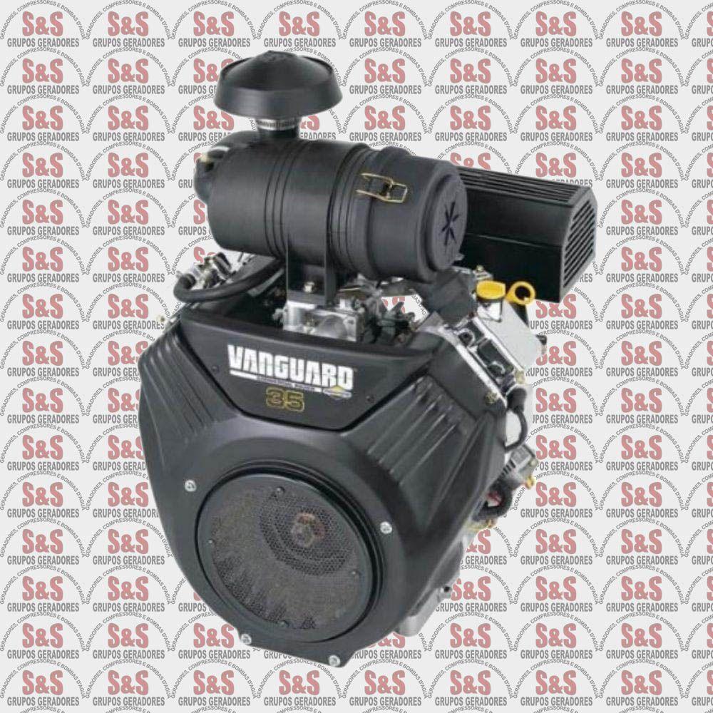 Motor a Gasolina 4 tempos - 35.0 HP - Partida Eletrica - Vanguard - Branco