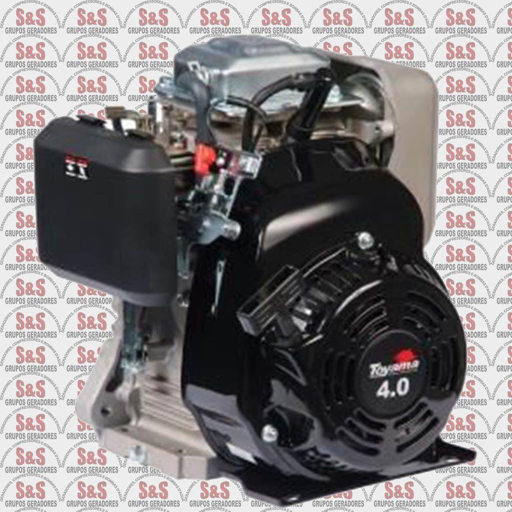 Motor a Gasolina 4 Tempos 4,5hp - Eixo Horizontal - TE40ZX - Toyama