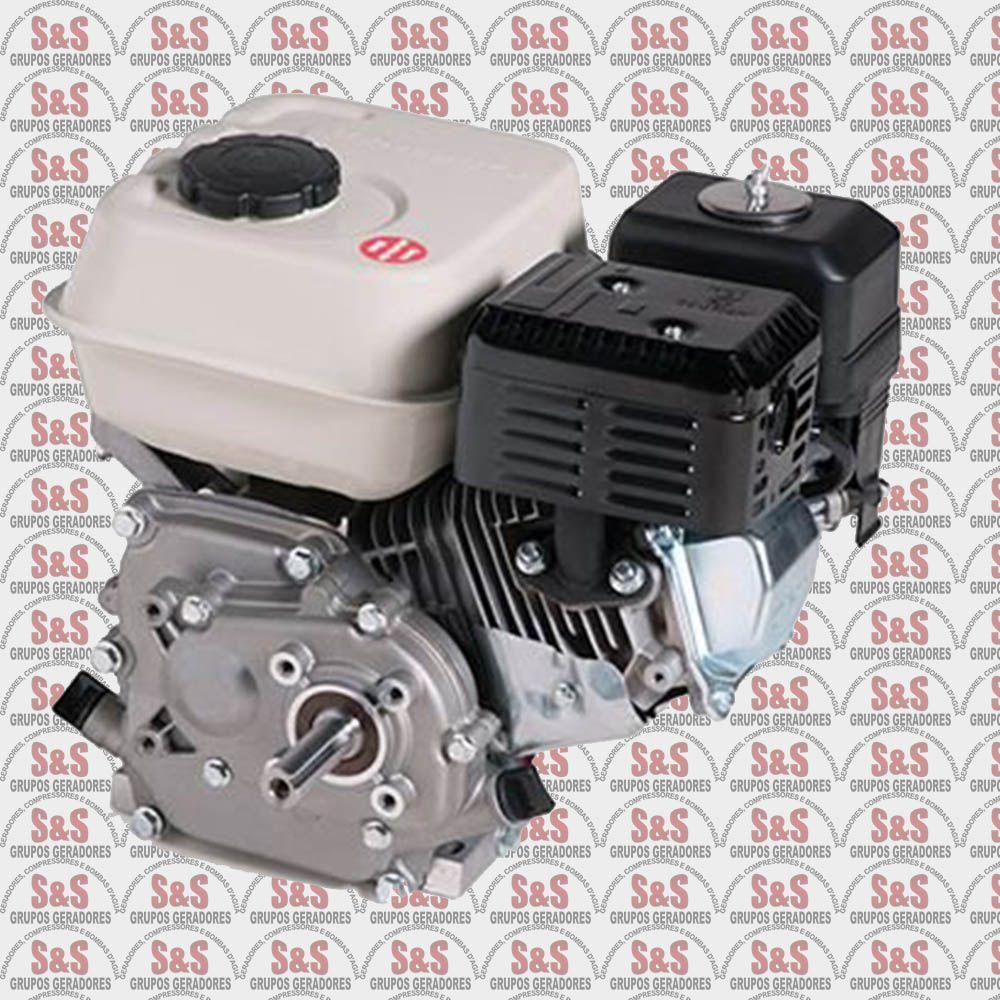 Motor a Gasolina - 4 Tempos - 6,5 CV - Partida Manual - B4T6,5 R - Branco