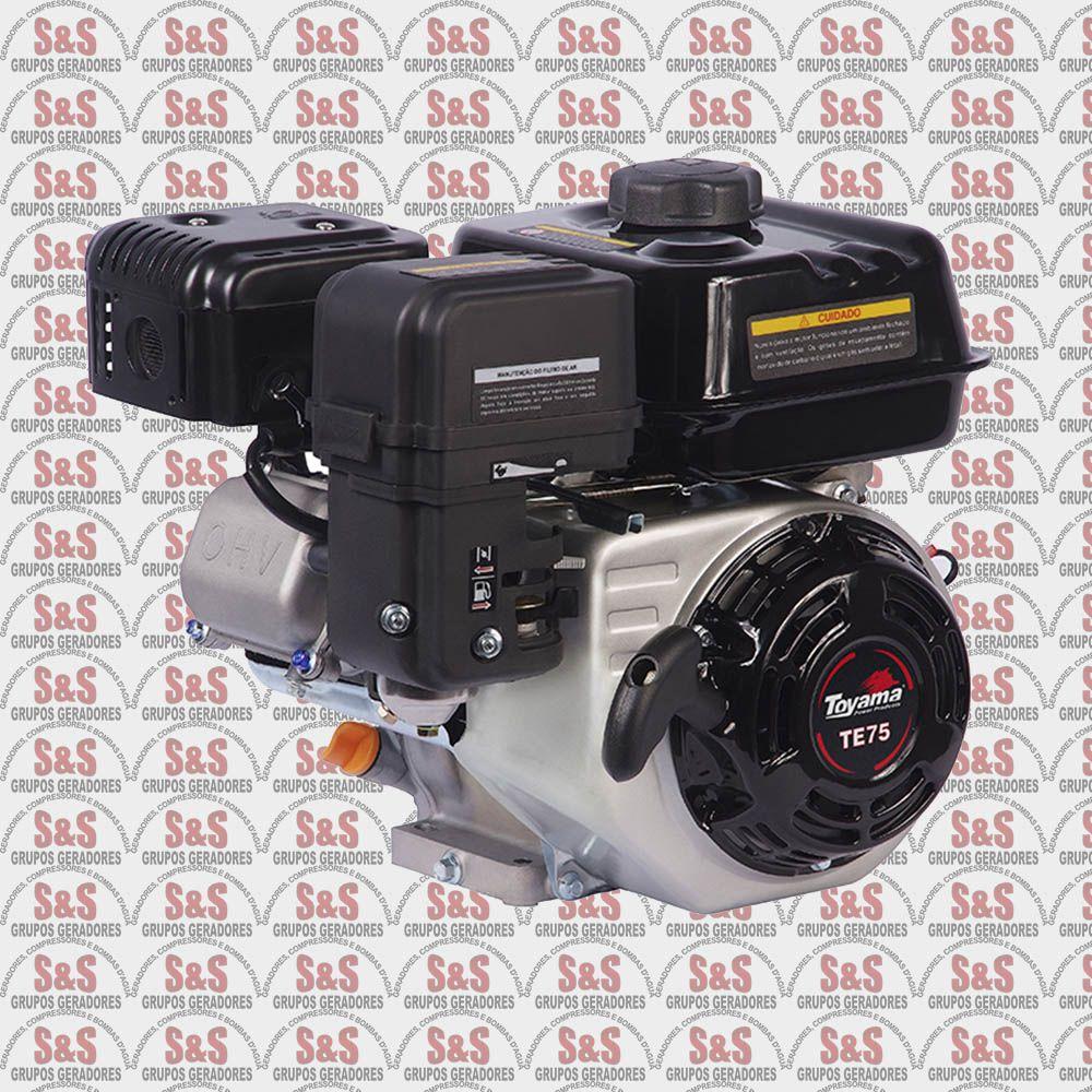 Motor a Gasolina 4 Tempos 7,5 HP - 212 CC -  TE75-XP - Toyama
