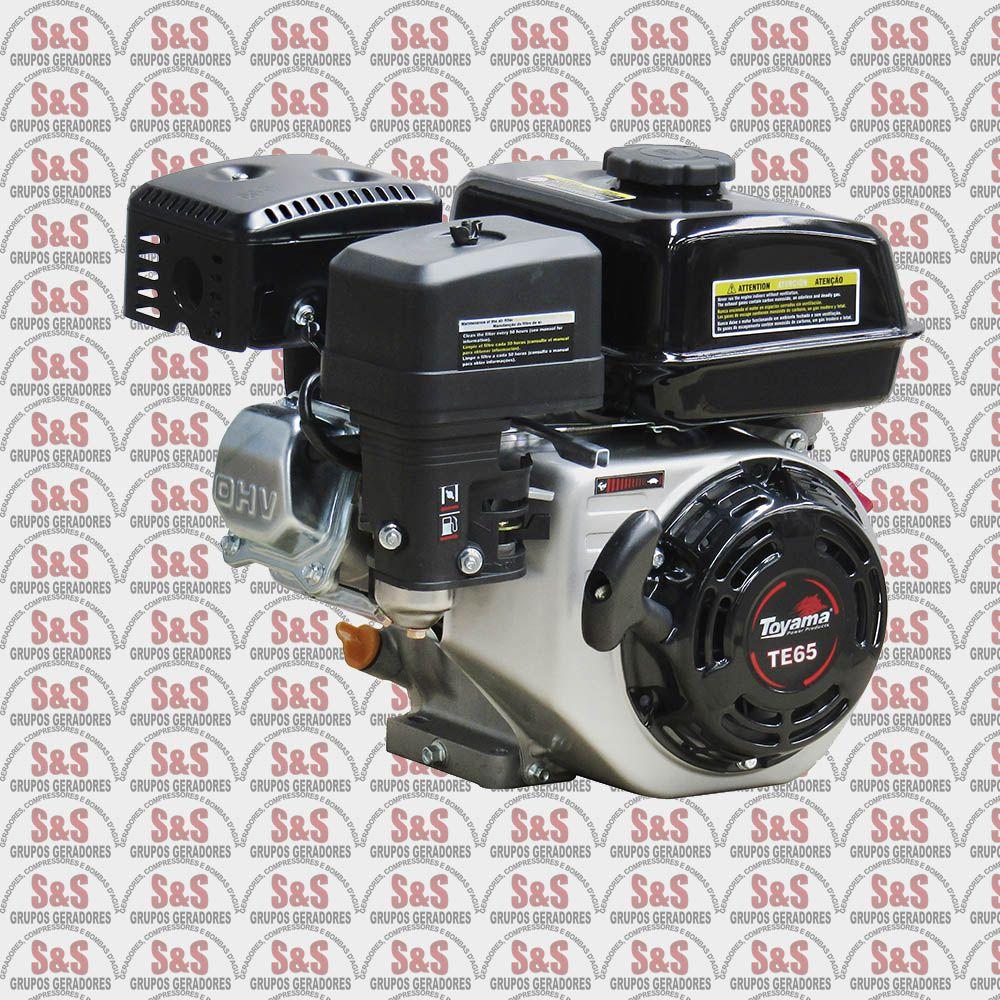 Motor a Gasolina 6,5hp Eixo Horizontal - Partida Manual - TE65N-XP - Toyama