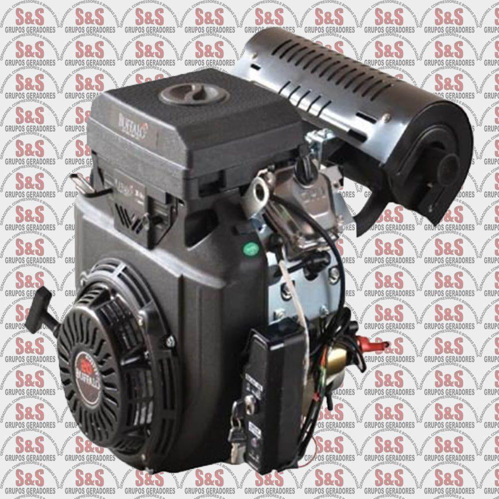Motor a Gasolina de 20 CV a 3600 rpm - Partida Manual / Eletrica - BFGE 20,0 - Buffalo