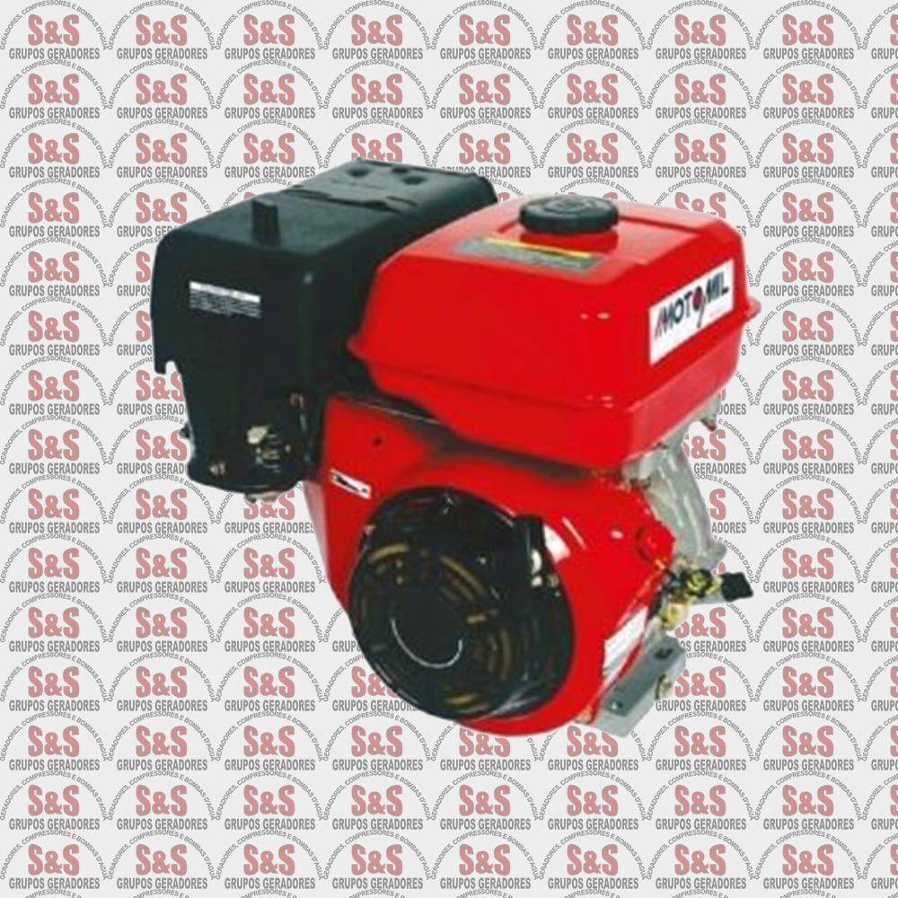 Motor a Gasolina Horizontal - 4 Tempos - 9,0HP - Partida Manual - MG90 - Motomil