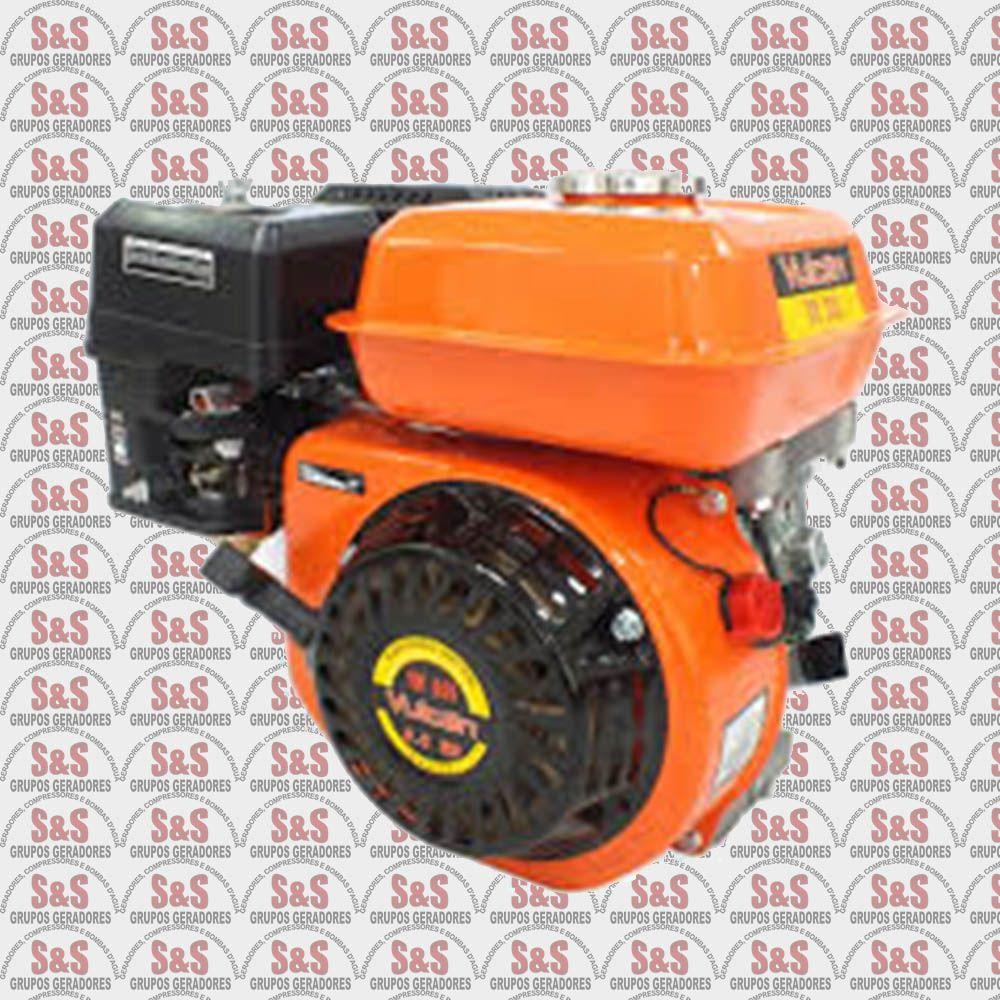 Motor a Gasolina - Monocilíndrico 4 Tempos - 6.5HP VM200 -  Vulcan