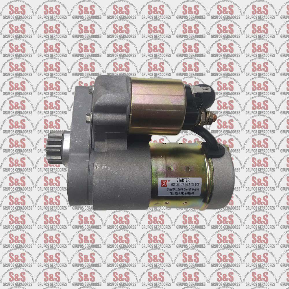 Motor De Partida - Motor Diesel Branco BD18/22