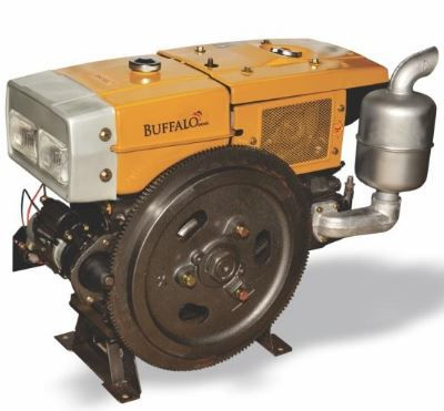Motor Diesel Buffalo com Radiador BFDE 22.0- Partida Elétrica  - Com Farol