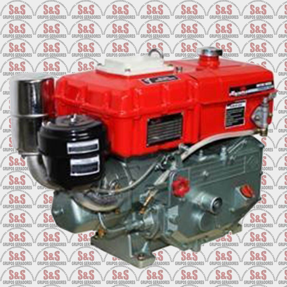 Motor Diesel Refrigerado a Água TDW8RE-XP- Partida Elétrica