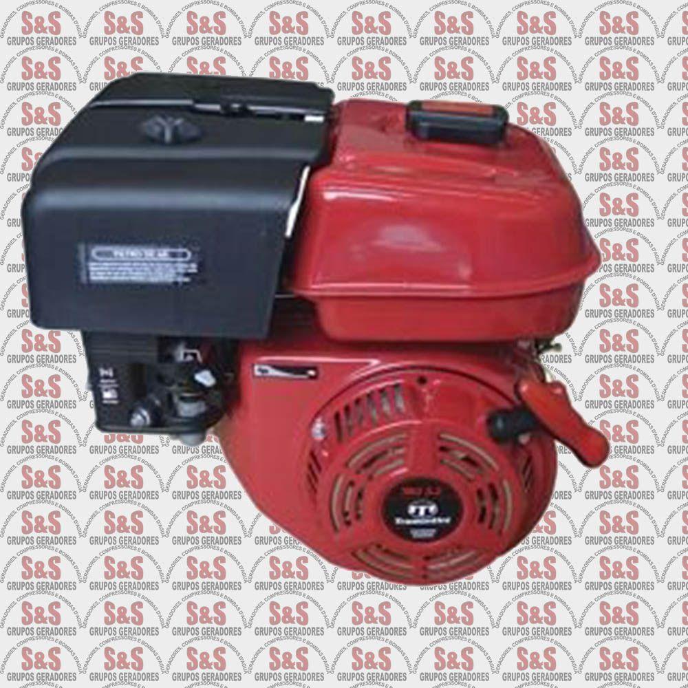 Motor Estacionario a Gasolina - 4 Tempos - Refrigerado a Ar - 5.5 CV - Partida Manual - TRG5.5 - Tramontini