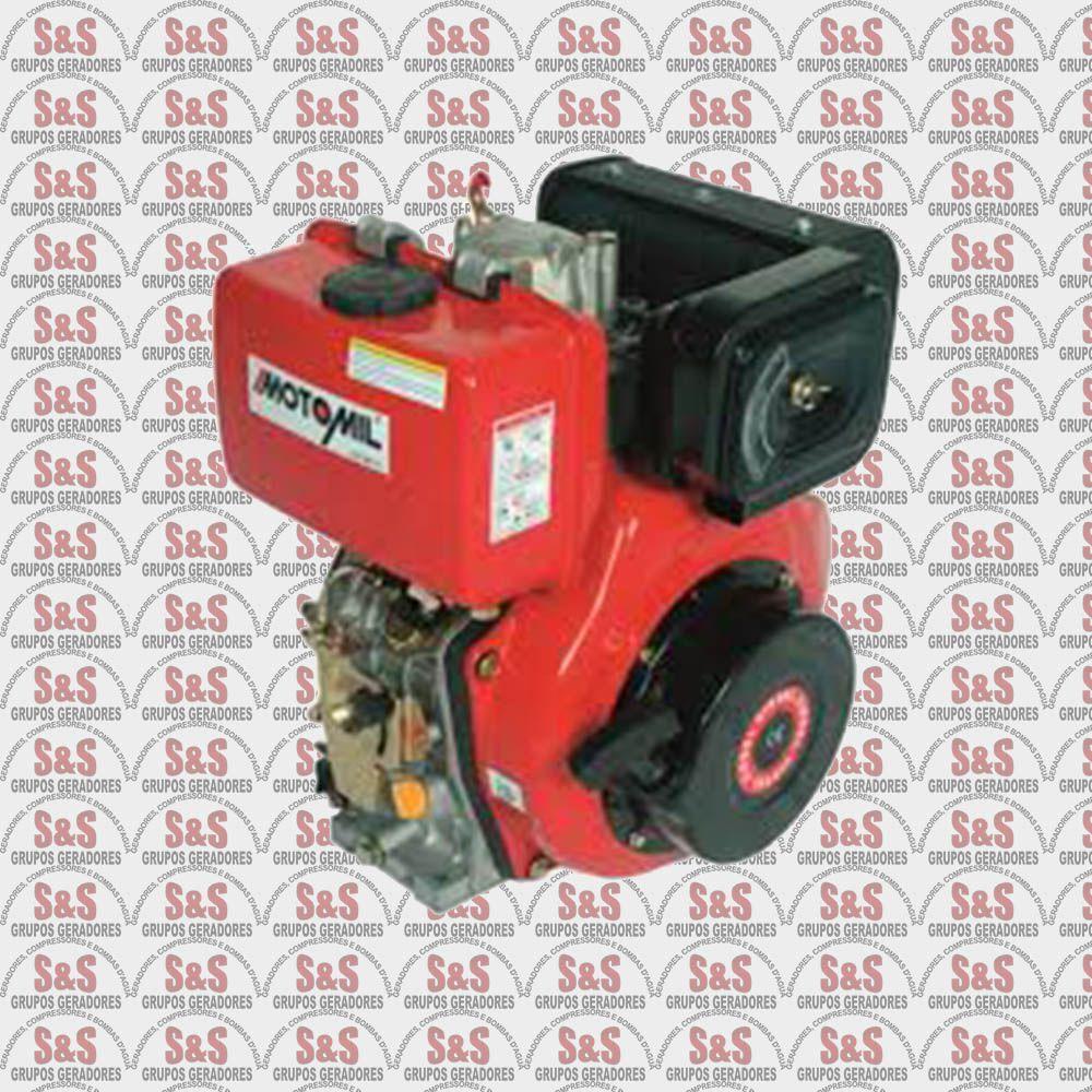Motor Estacionario Horizontal a Diesel - 4,2HP - 3600RPM - MD170 - Motomil