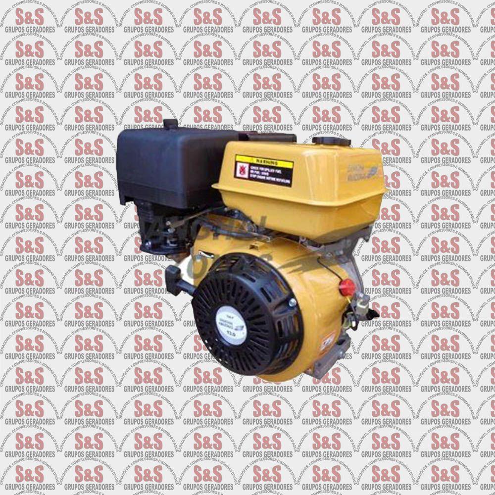 Motor Flex - Gás e Gasolina 13 HP - Partida Elétrica - AM188FE-PG - Shanghai  Amazonas