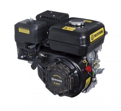 MOTOR HORIZONTAL - 6,5 HP GASOLINA - MATSUYAMA - PARTIDA MANUAL