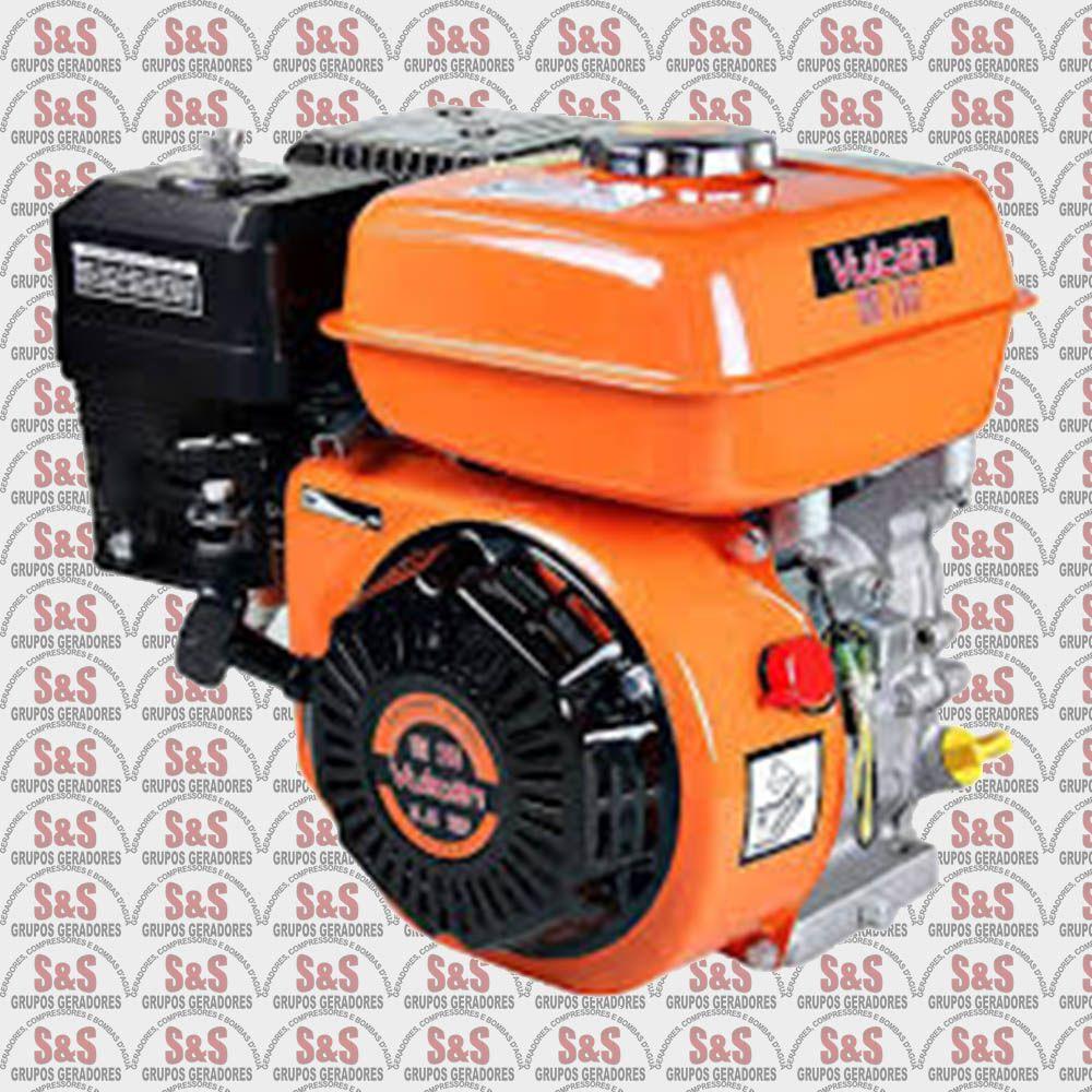 Motor Horizontal a Gasolina – 4 tempos – Monocilíndrico 5.5 HP - VM 160 - Vulcan