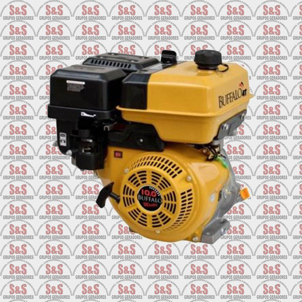 Motor horizontal a Gasolina de 10,0 CV a 3600 rpm - BFG10,0 Master - Partida Manual - Buffalo