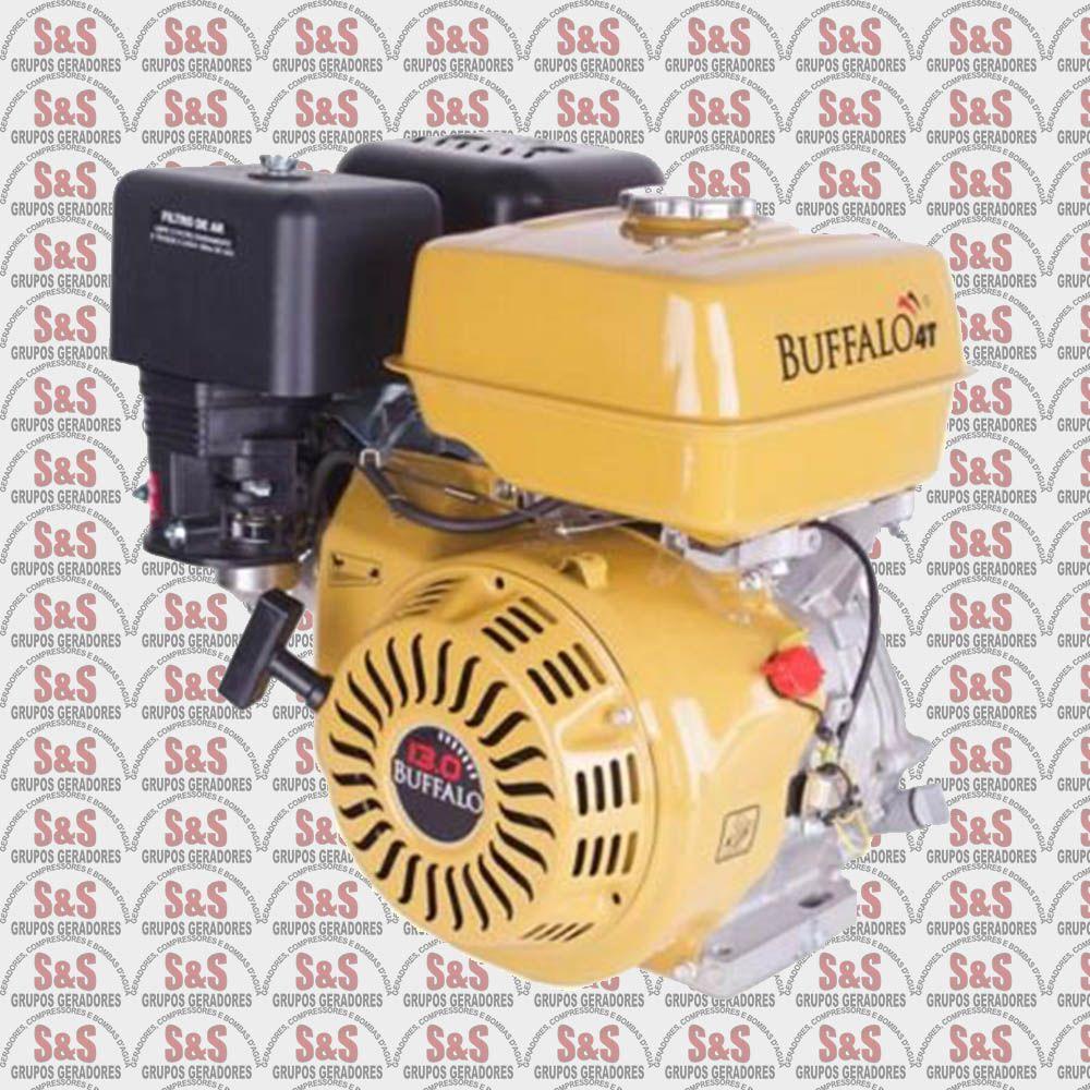 Motor horizontal a Gasolina de 13,0 CV a 3600 rpm - BFGE13,0 - Partida Manual - Buffalo