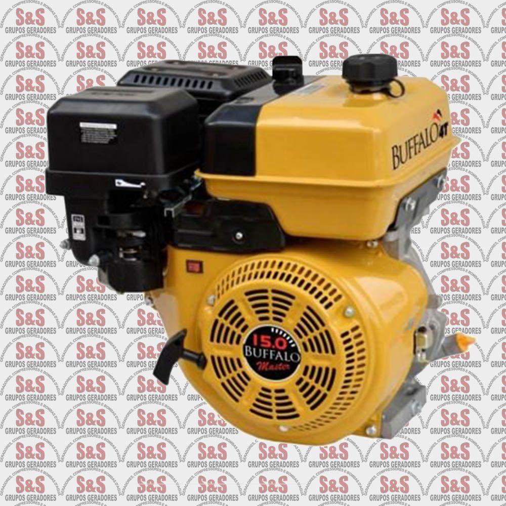 Motor horizontal a Gasolina de 15,0 CV a 3600 rpm - BFG15,0 Master - Partida Manual - Buffalo