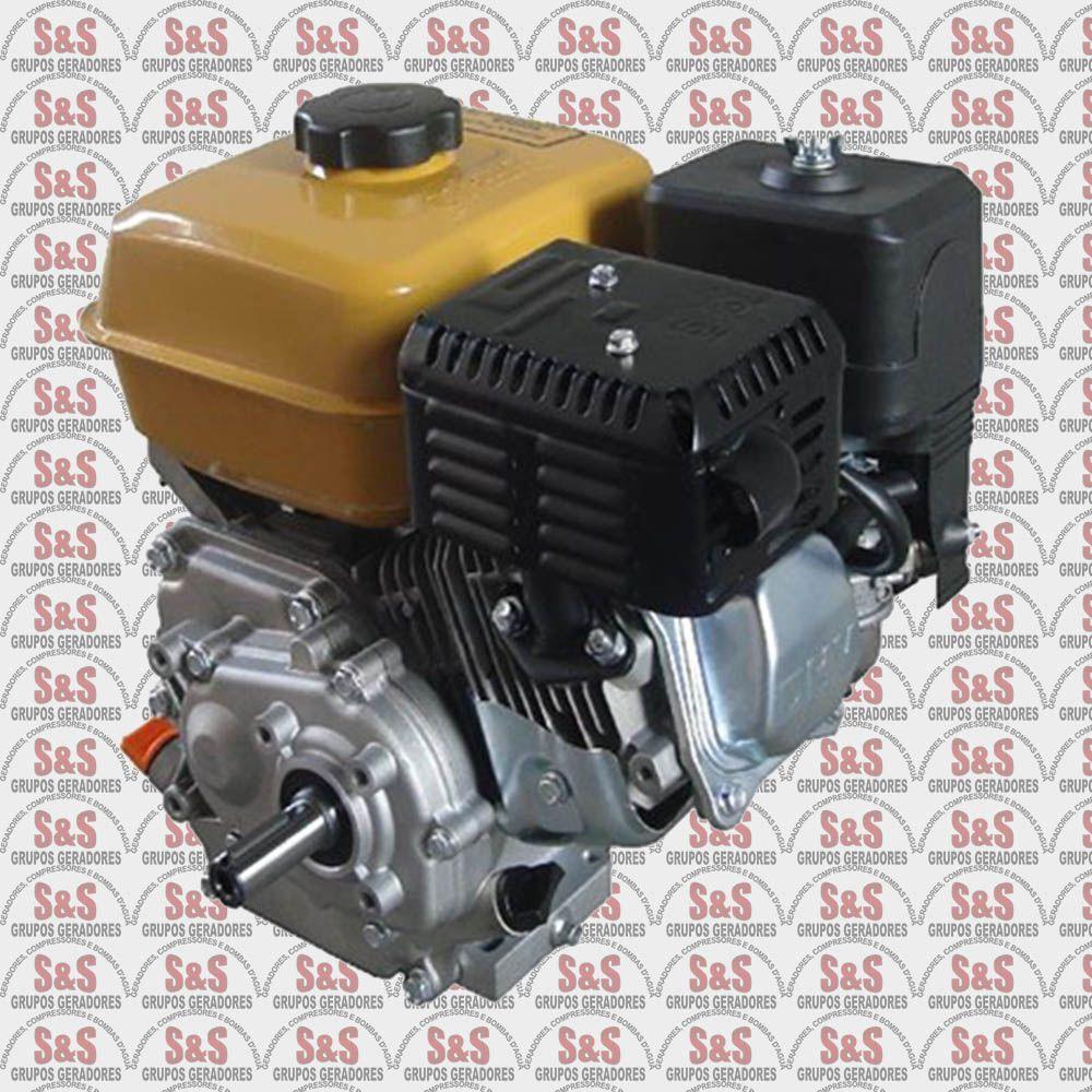 Motor horizontal a Gasolina de 7,0 CV a 1800 rpm - Com Redutor (2:1) e Alerta de Oleo - BFG7.0 1800 - Buffalo