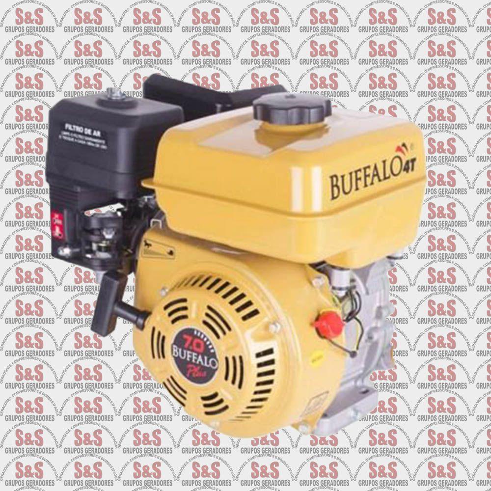 Motor horizontal a Gasolina de 7,0 CV a 3600 rpm - BFG7.0 Plus - Buffalo