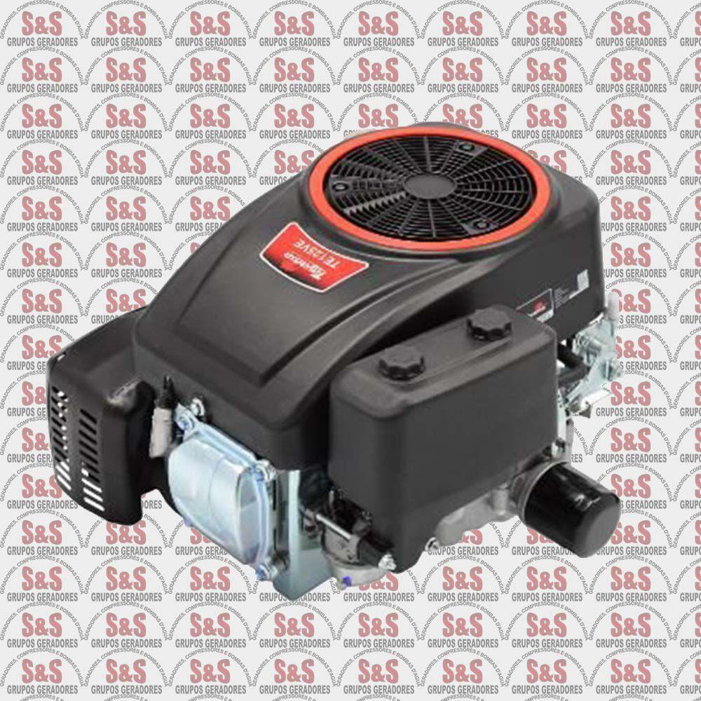 Motor Toyama a Gasolina TE125-12,5HP-4T OHV-413cc-Eixo Vert. 1'' c/ escape e Part. Eletrica