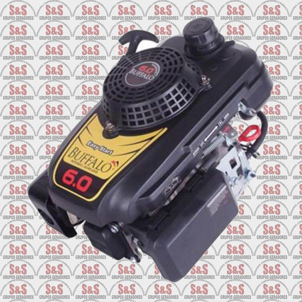 Motor vertical a Gasolina de 6 CV a 3600 rpm - BFG6.0 Outboard - Buffalo