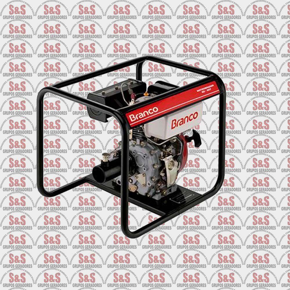 Motovibrador a Diesel - Motor de 5 CV - BD507 - Branco