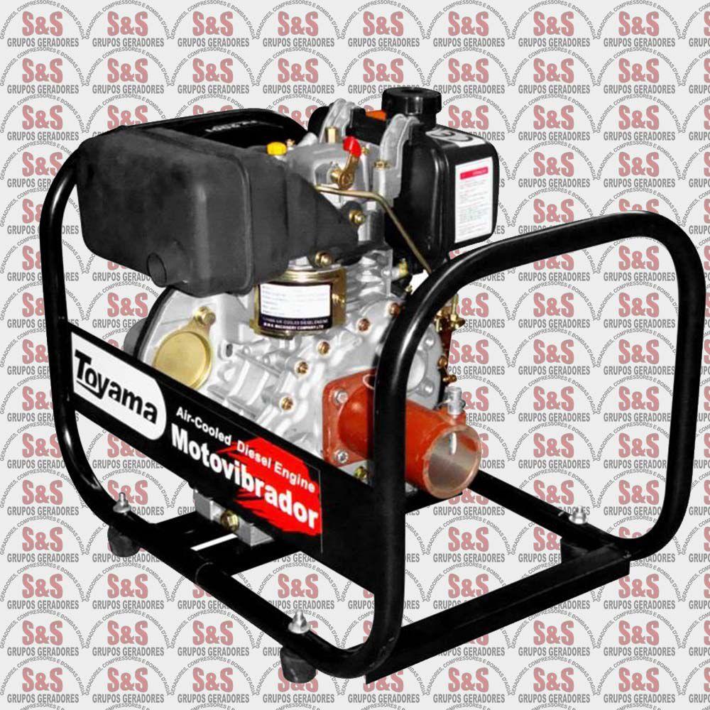 Motovibrador a Diesel - Motor de 5HP - MVD50F - Toyama