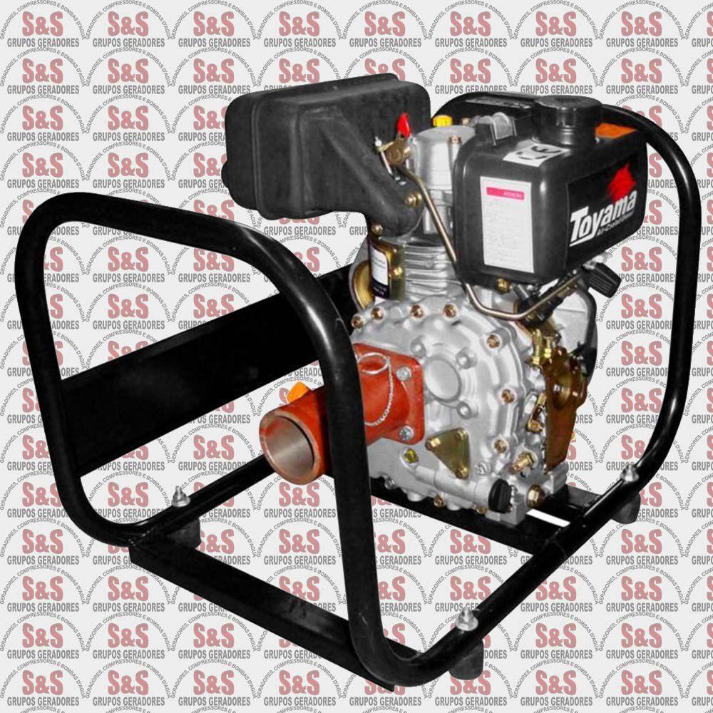 Motovibrador a Diesel - Motor de 5HP - MVD50FE - Toyama