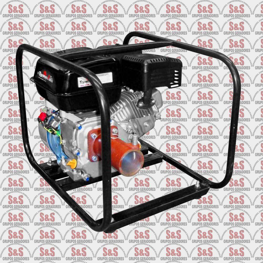 Motovibrador a Gasolina - Motor de 6,5HP - MVF65FX1A - Toyama