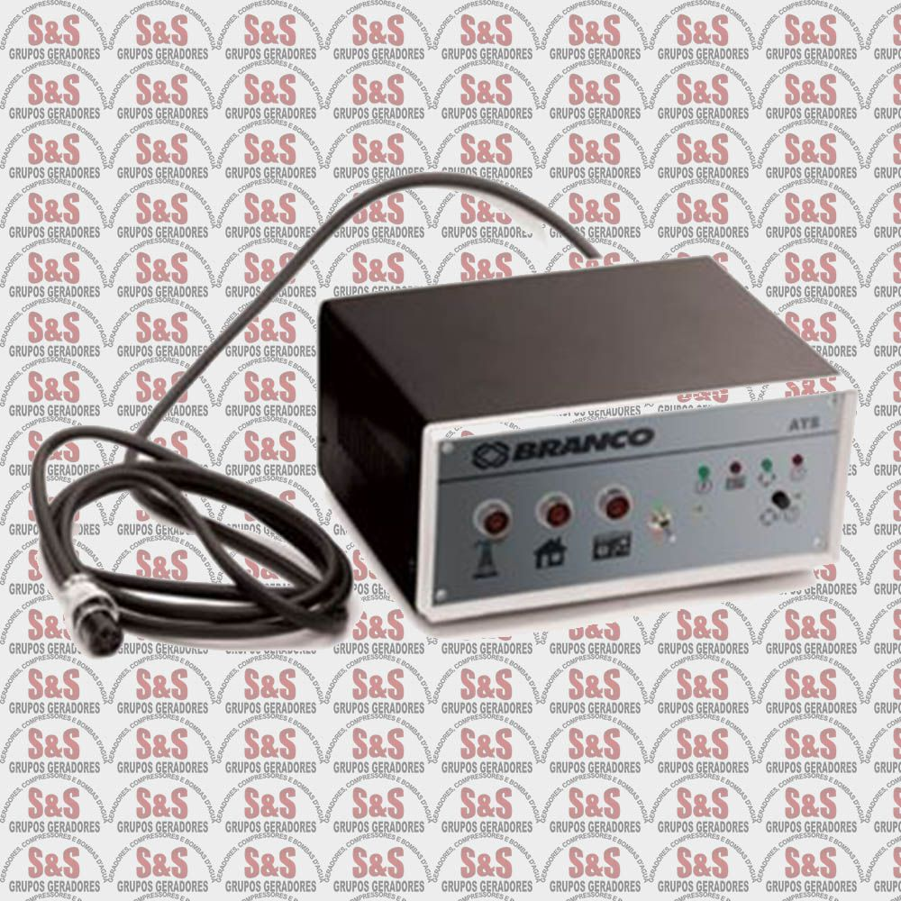 Painel de transferência automática (ATS) para Gerador BD12000 (220V) - Branco