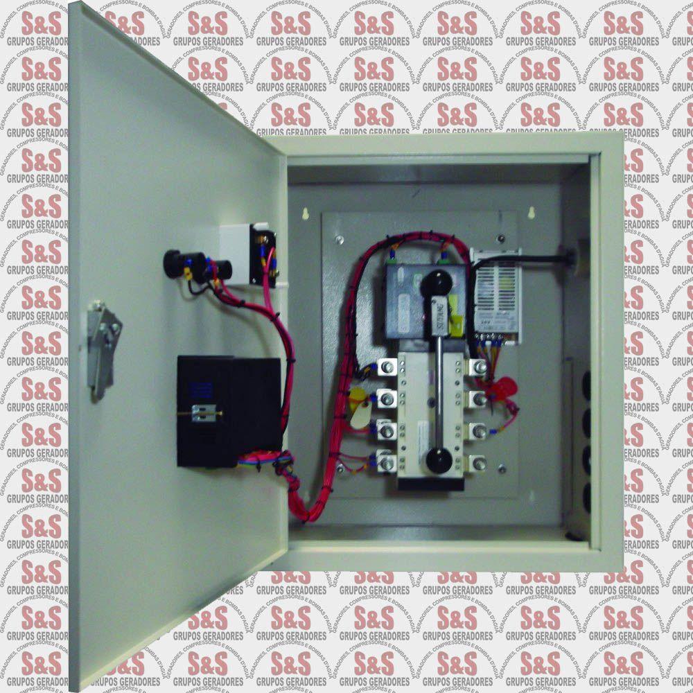 Painel de transferência automática (ATS) - Trifásico 220V para Gerador TDMG125E3 /SE3-220 - ATS125T220 - Toyama