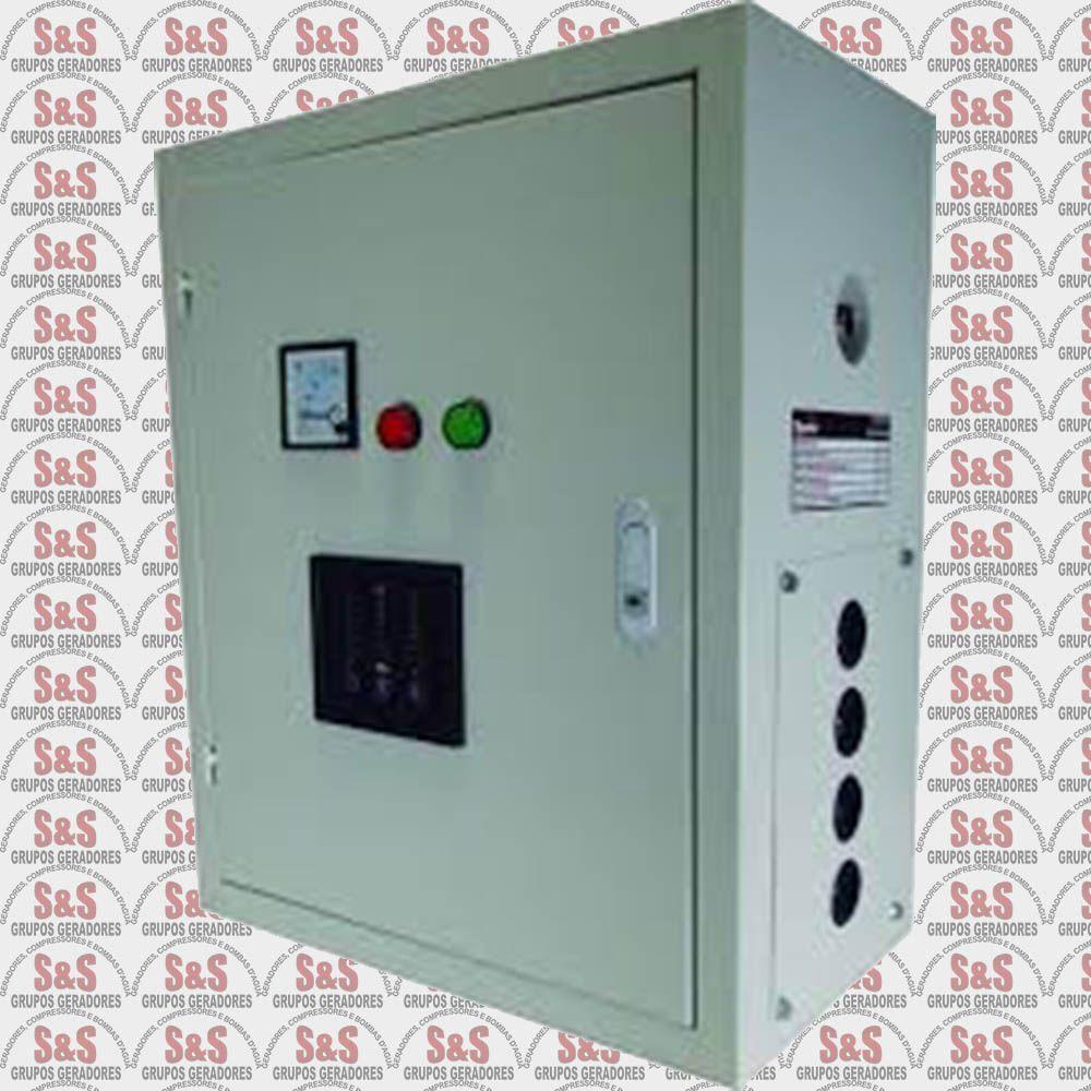 Painel de transferência automática (ATS) - Trifásico 380V para Gerador TDMG125E3 /SE3-380 - ATS125T380 - Toyama