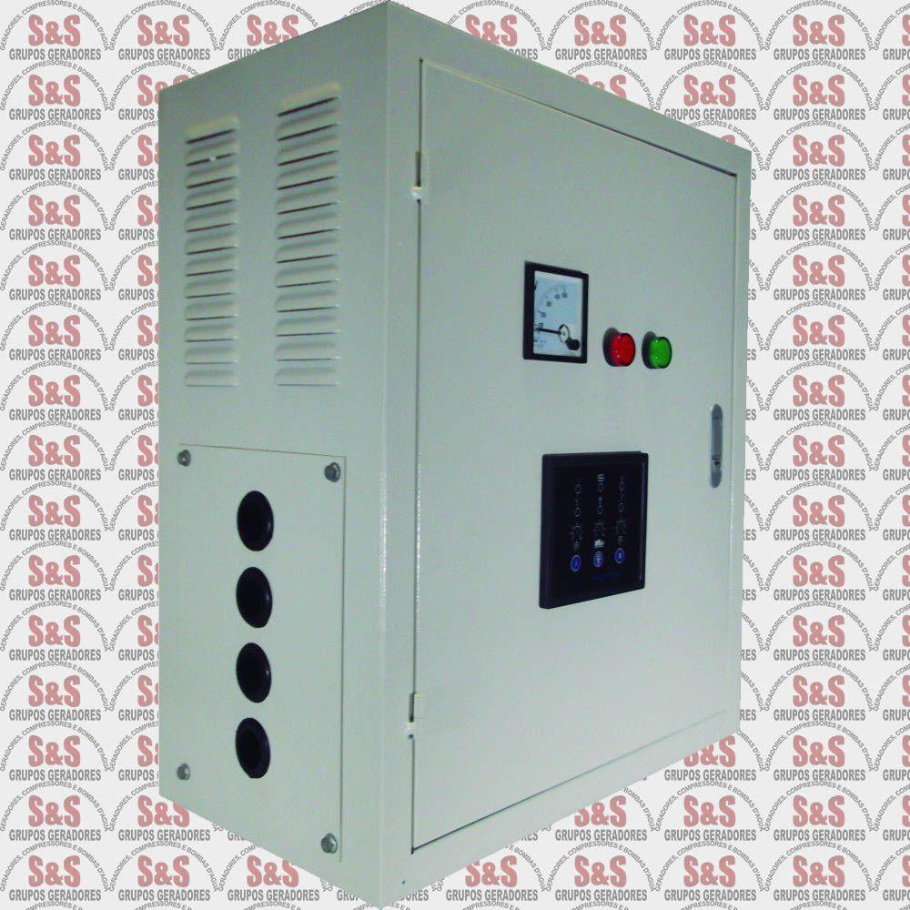 Painel de transferência automática (ATS) - Trifásico 380V para Gerador TDMG40SE3-380 - ATS40T380 - Toyama