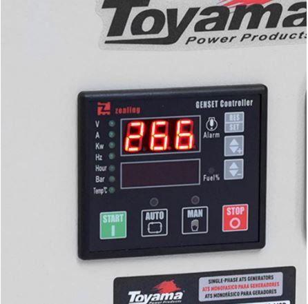 Painel de Transferência Automático Monofásico ATS-M9D para TDG7500 e TDG8500 Série XP - TOYAMA-256-004
