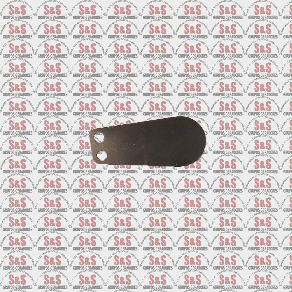 Palheta de Compressão - Compressor de Ar Motomil  (CMV-20I)