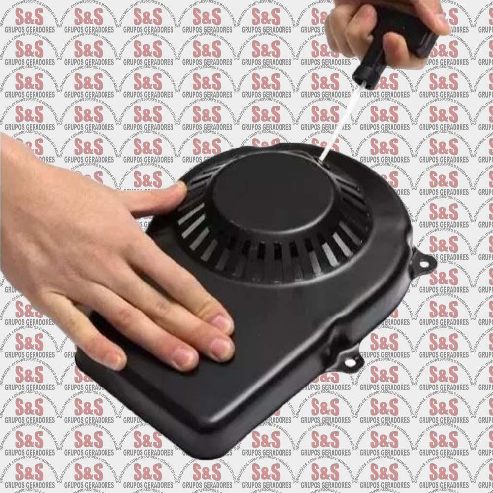 Partida Retrátil Completa Gerador 950 Watts - 2 Tempos- Multimarcas
