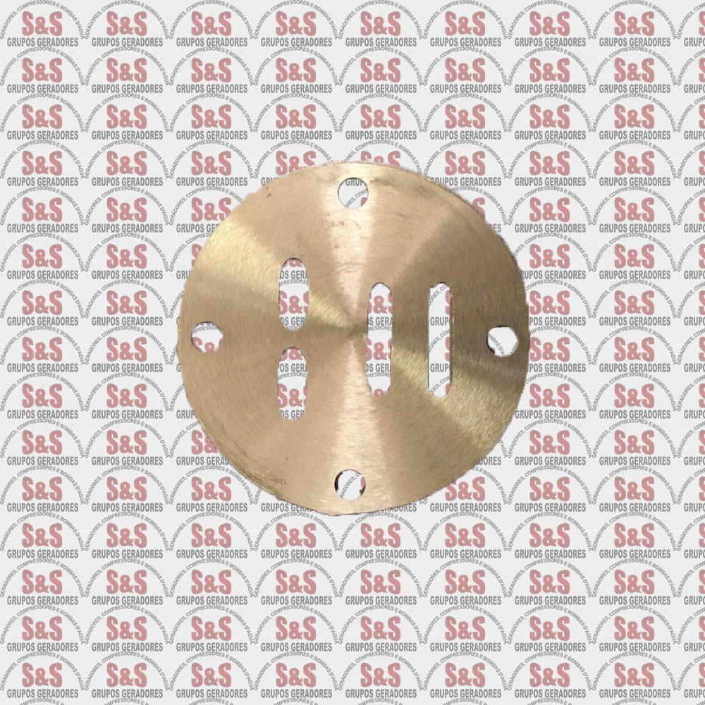 Placa de Valvulas Compressor de Ar Motomil   (CMV-6,0/CMV-10)