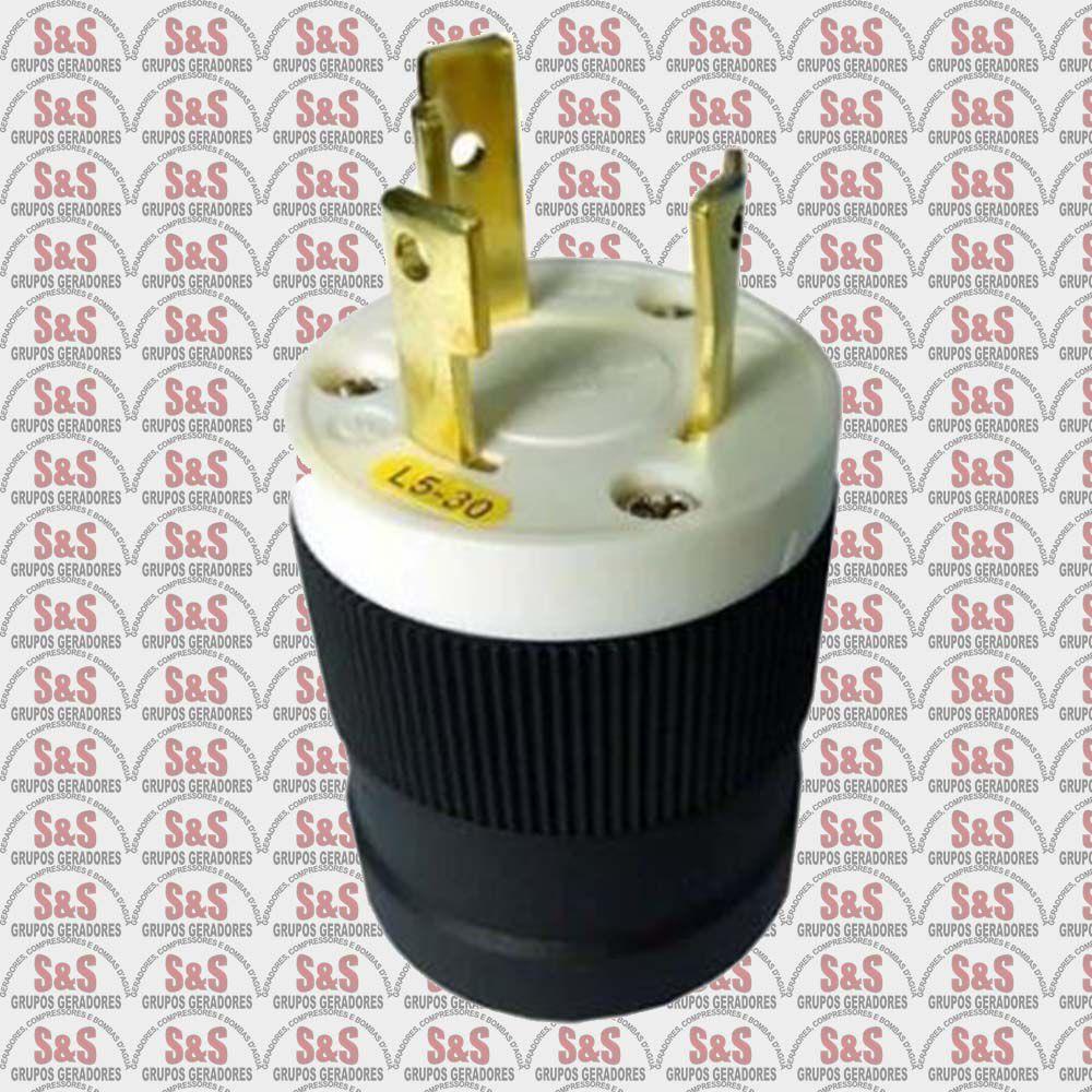 Plug 03 Pinos 110V 2500/5000/6500L (E) 8000