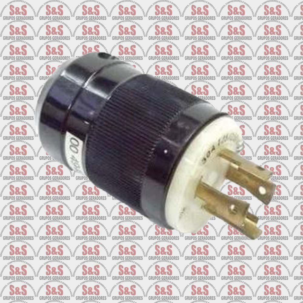 Plug 04 Pinos 220V- Gerador 2.5KVA a 8.0KVA