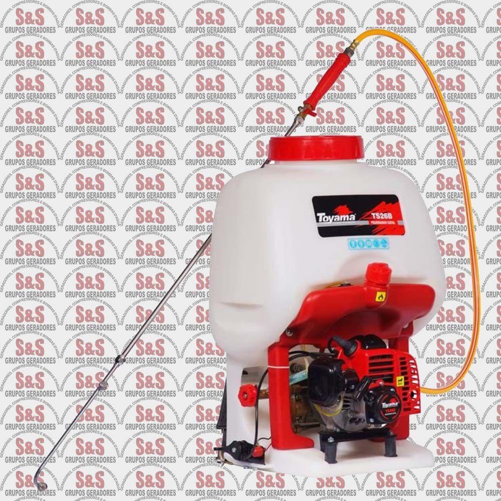 Pulverizador Costal a Gasolina -2 Tempos - TS26BX - Toyama