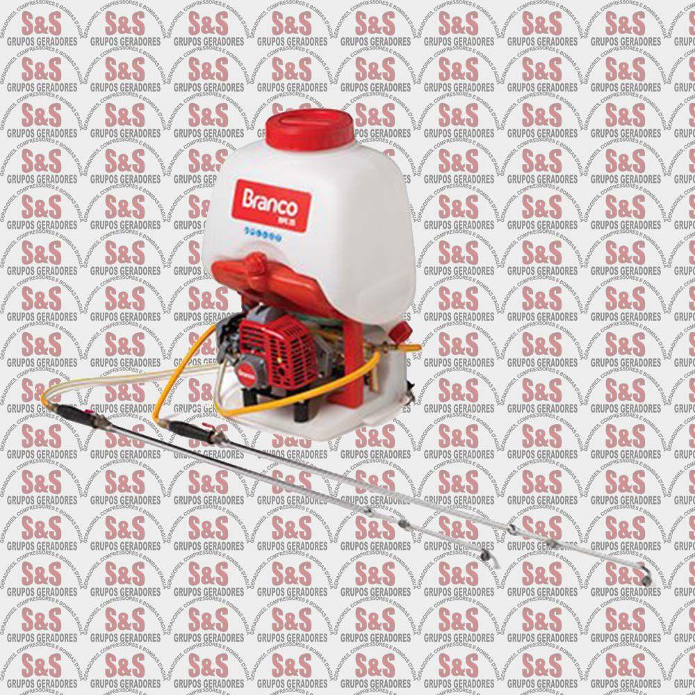 Pulverizador Costal a Gasolina -  BPC25 - Branco