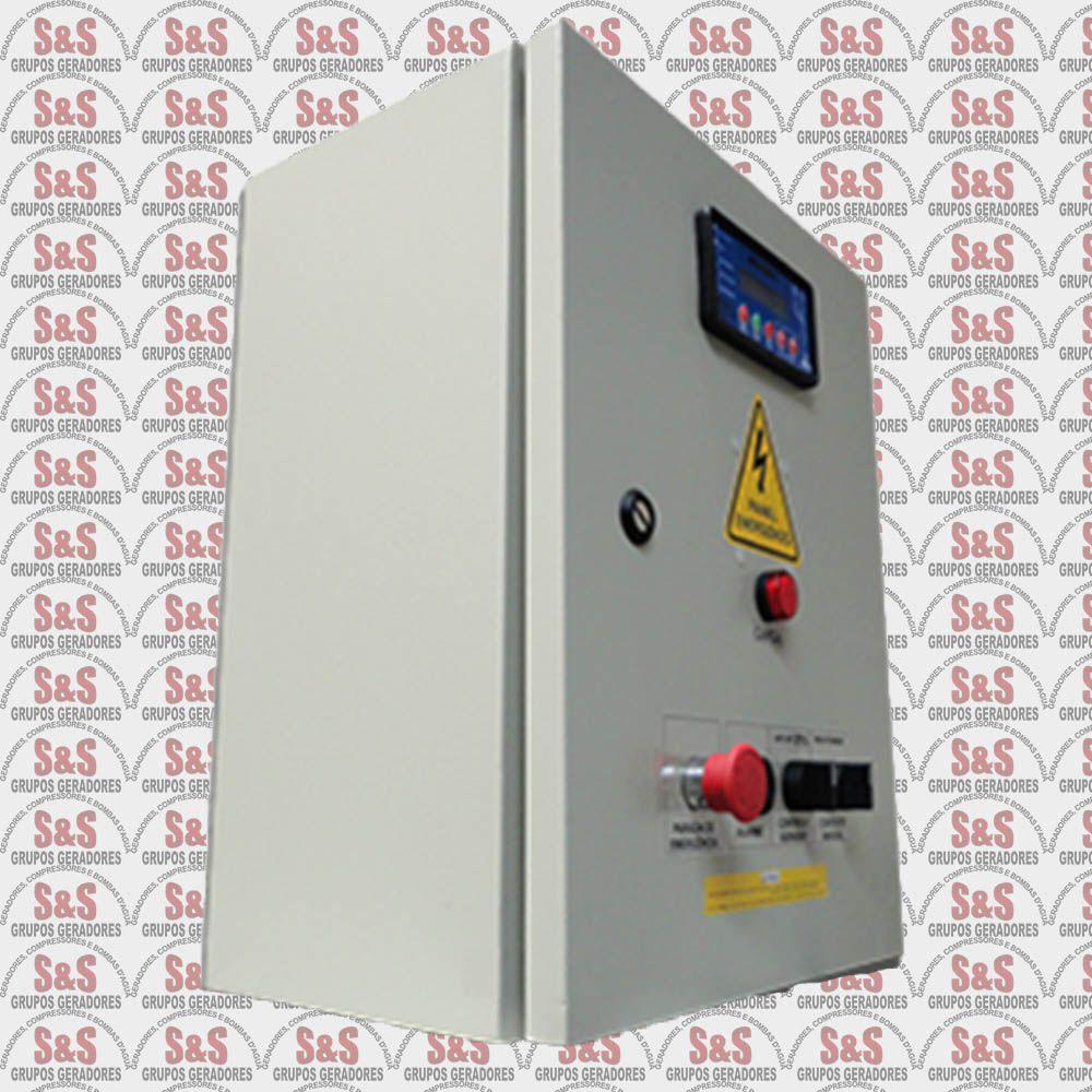 Quadro de transferência automática (QTA) com USCA - Monofásico - 12 KVA - 50 Ampéres - Strazmaq