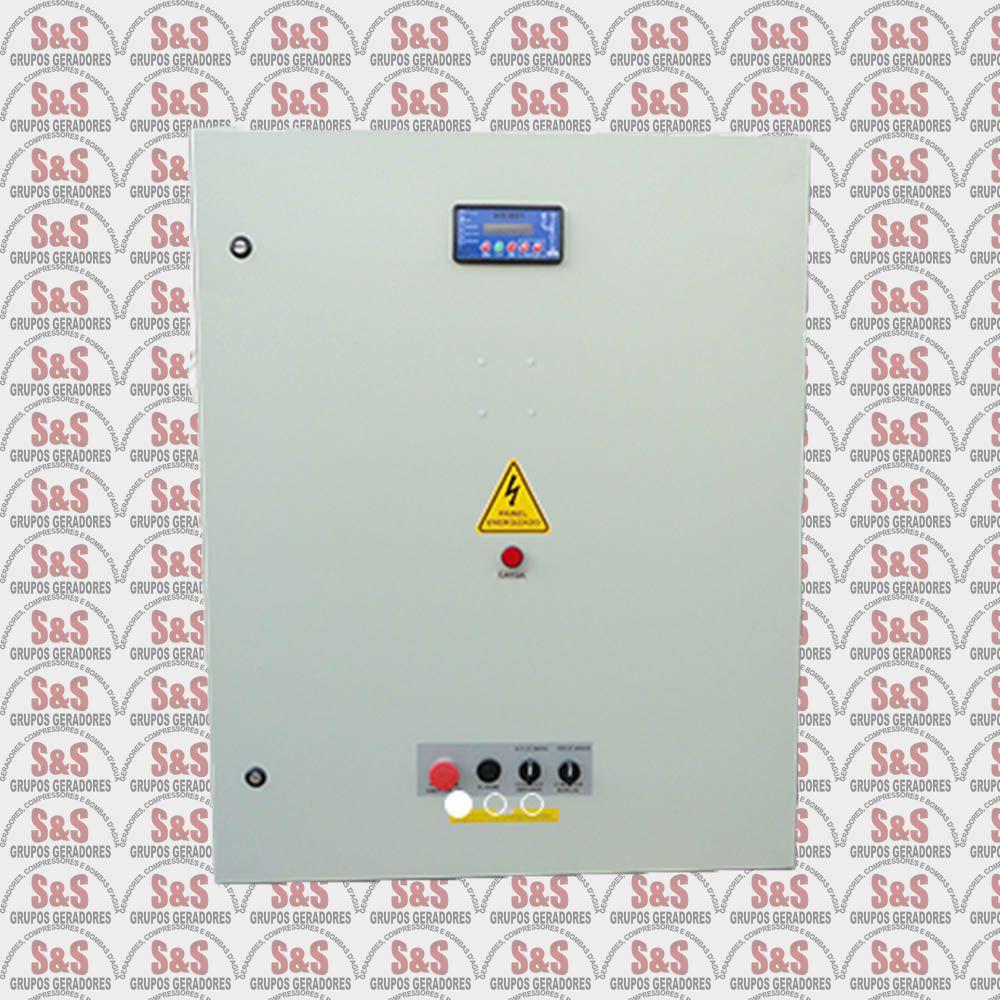 Quadro de transferência automática (QTA) com USCA - Trifásico 220V - 150 KVA - 400 Ampéres - Strazmaq