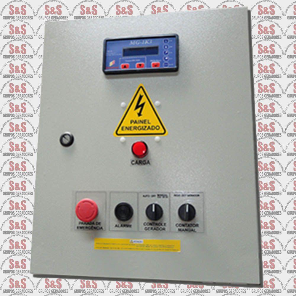 Quadro de transferência automática (QTA) com USCA - Trifásico 380V - 30 KVA - 80 Ampéres - Strazmaq