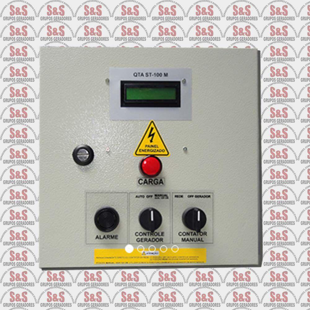 Quadro de transferência automática (QTA) - Monofásico - 12 KVA - 50 Ampéres - Strazmaq