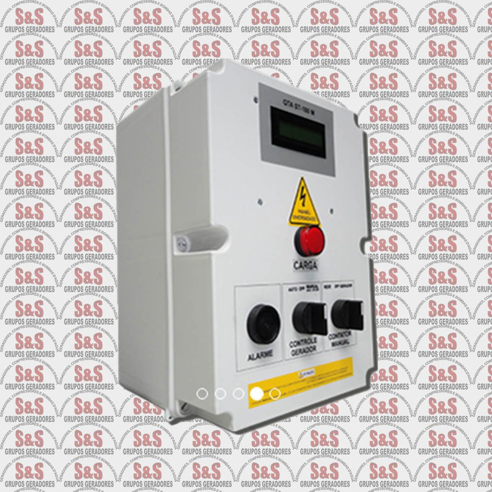 Quadro de transferência automática (QTA) - Trifásico 380V - 8 KVA - 30 Ampéres - Strazmaq