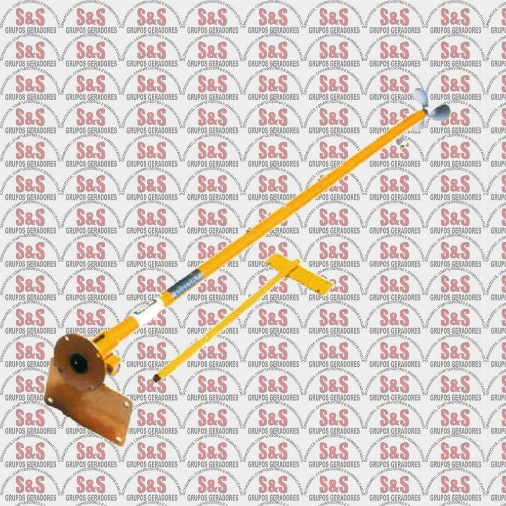 Rabeta STD para Motor 5.5 HP 6.5 HP e 7.0 HP - 4 Tempos - Comprimento 2,20m - BFG 7.0CV - Buffalo
