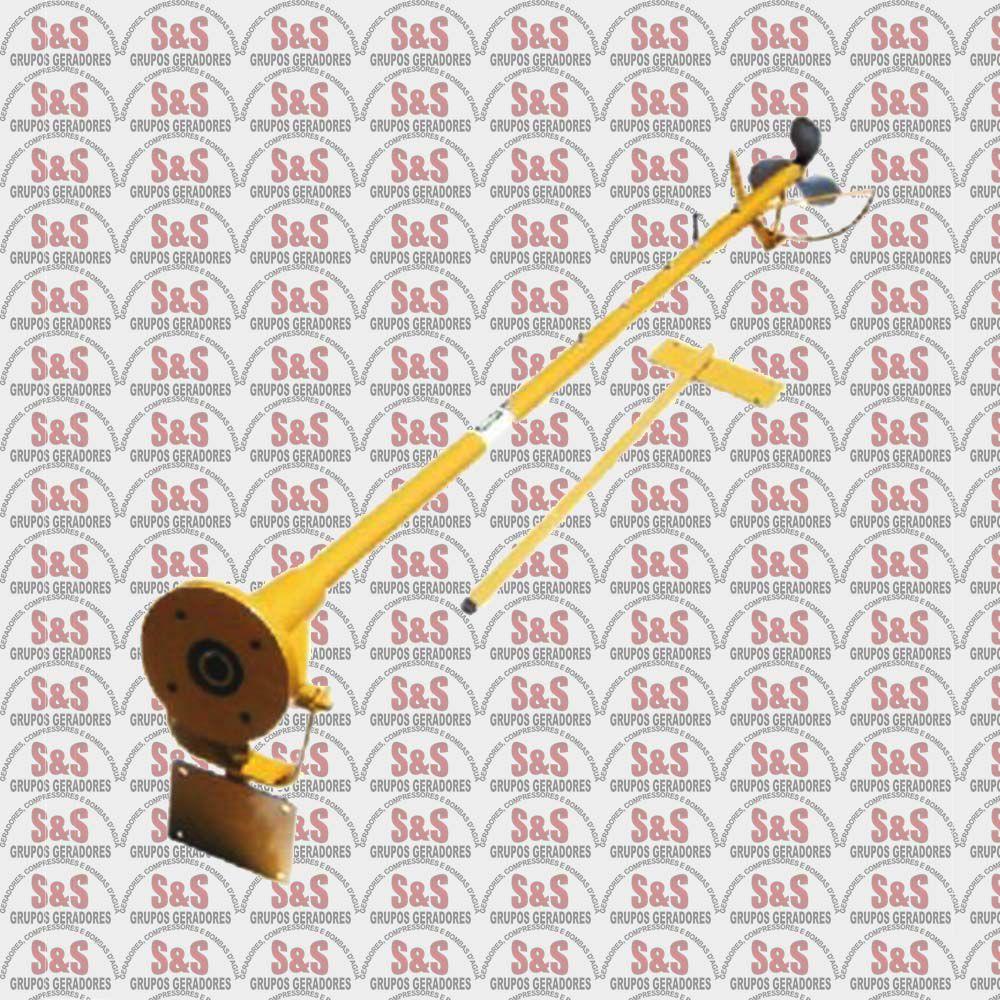 Rabeta STD para Motor Diesel 5.0 HP 7.0 HP e 10.0 HP - Comprimento 2,80m - BFD 10.0CV - Buffalo