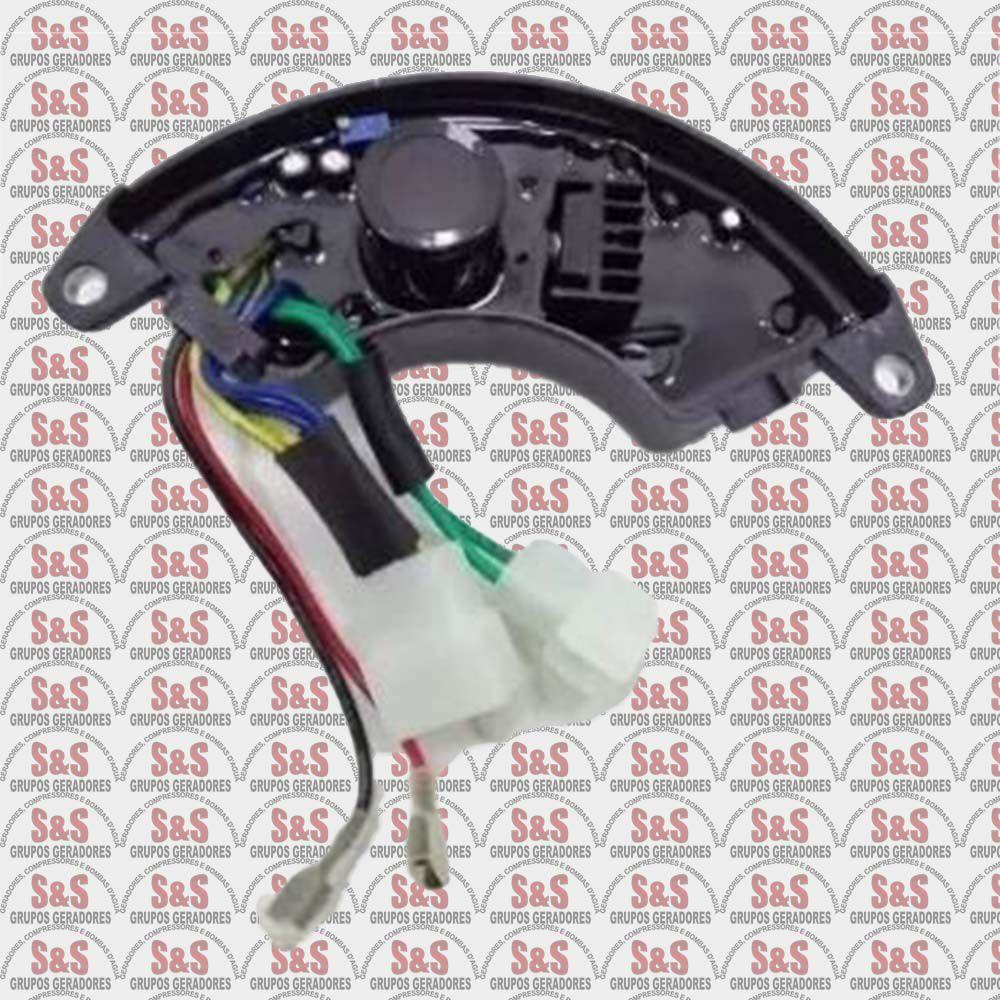 Regulador de Tensão (AVR) 6500 Trifasico - Buffalo