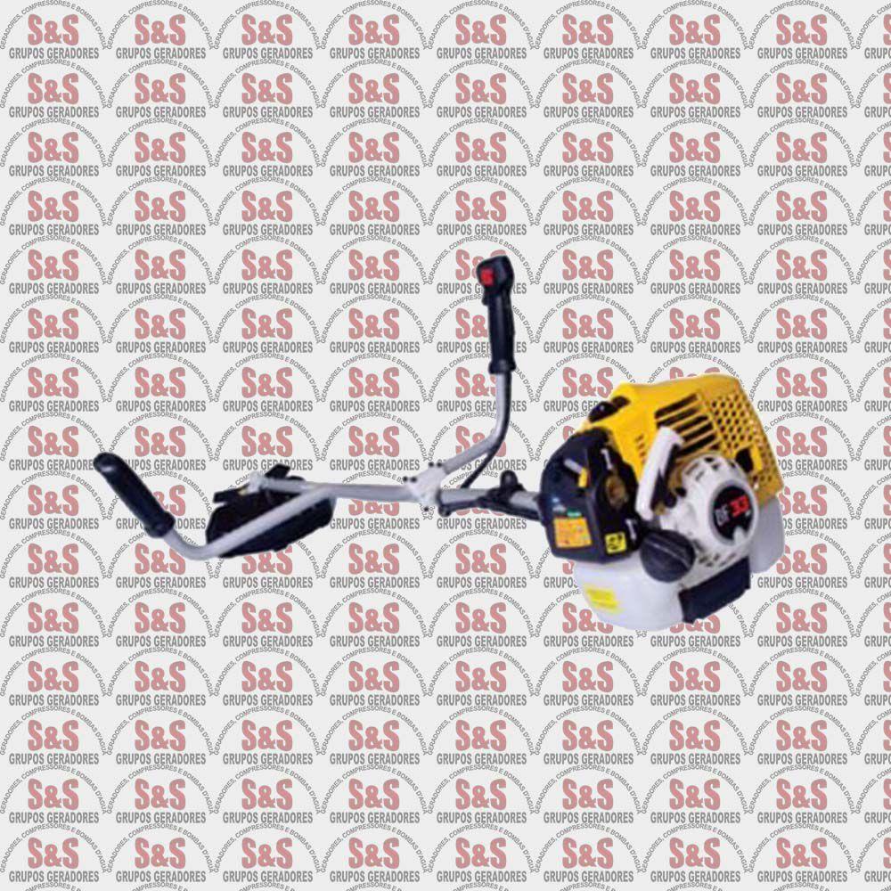 Roçadeira a Gasolina - 2 Tempos - Motor 1,6 cv a 7200 rpm - Partida Manual - BF43 2T - Buffalo
