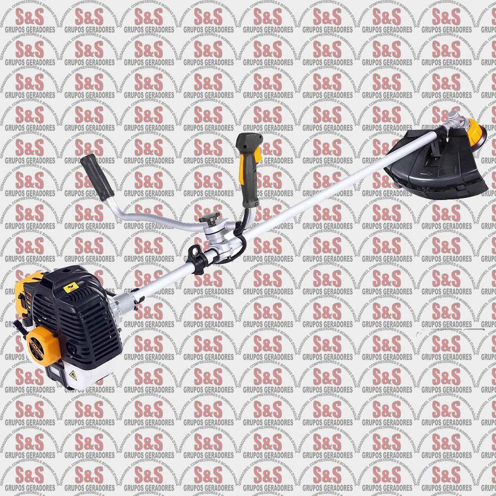 Roçadeira a Gasolina - 2 Tempos - Refrigerado a Ar - Motor 42,7cc - BCB43W - ZMAX