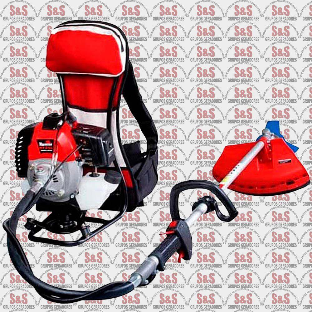 Roçadeira a Gasolina Semi Profissional - Motor 1,67 HP - 42,7 cc - RT43C - Toyama